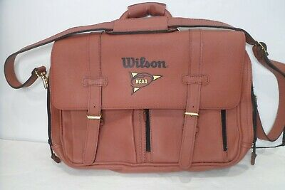 Details about Wilson Actual Football Leather NCAA
