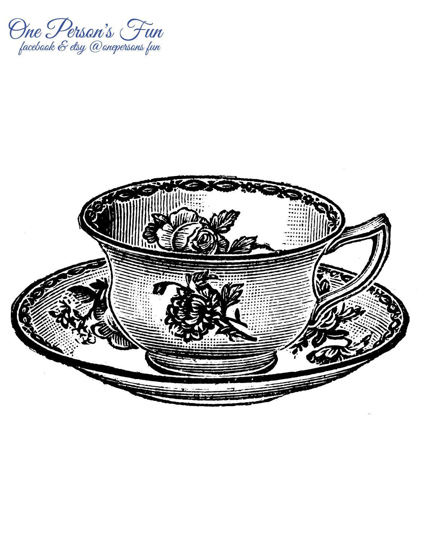 Vintage Teacup 6 Transparent Png Etsy In 2020 Old Book Art Book Art Tea Cups Vintage