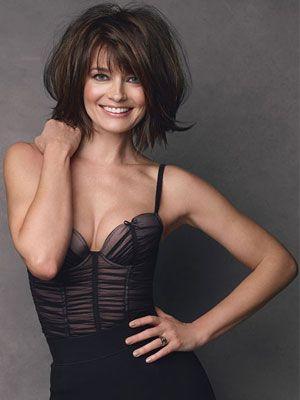 Paulina Porizkova-Ocasek...I love her! A smile is always sexy!