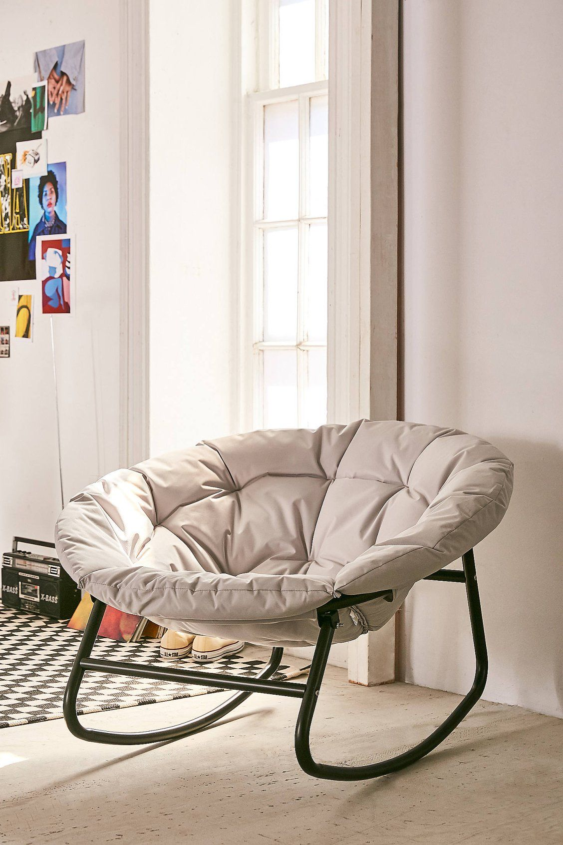 Basic Rocking Papasan Chair Papasan Chair Furniture Quirky