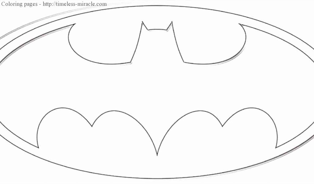 24 Batman Symbol Coloring Page In 2020 Coloring Pages