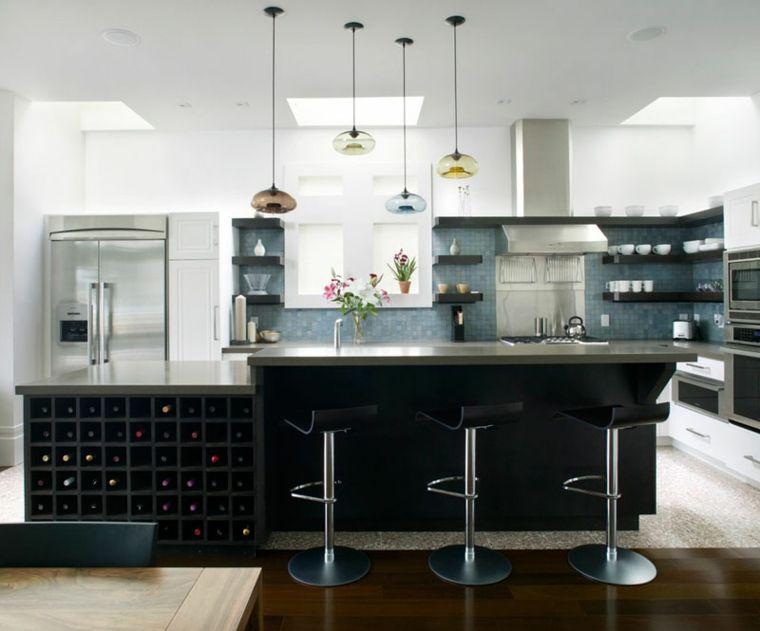 Asombroso Isla De Cocina Con Armarios Molde - Ideas Del Gabinete de ...