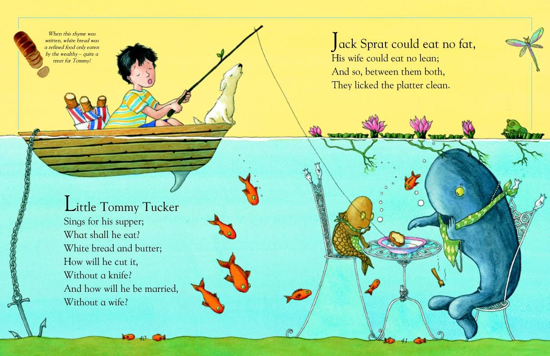 Jack Sprat And Little Tommy Tucker