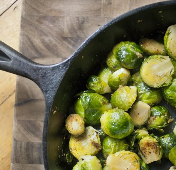 SIDE DISH: Simple Roasted Brussels Sprouts