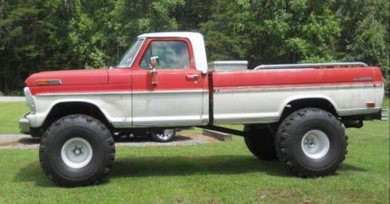69 ford f 100 4x4