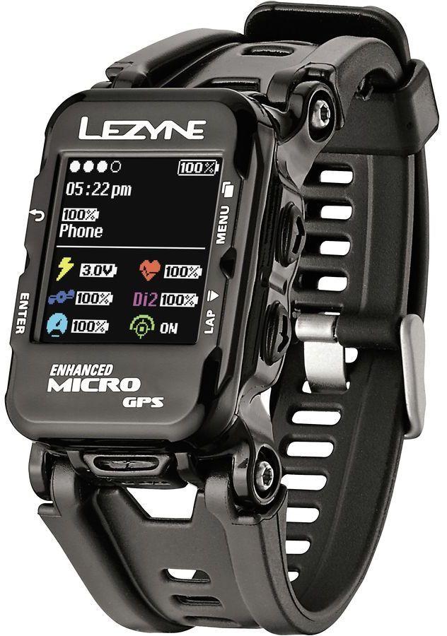 Lezyne Micro Color Gps Hr Loaded Watch Jam Tangan Pria Teknologi