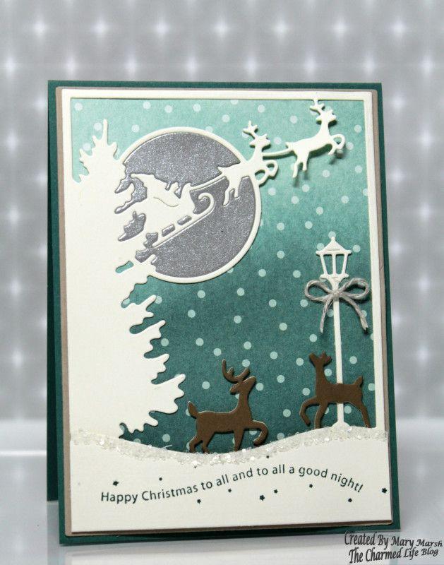 CC650 ~Christmas Eve Santa~ by MaryR917 - Cards an