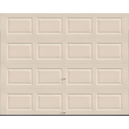 Ideal Door 3 Star 9 Ft X 7 Ft Almond Standard Value Non Insulated