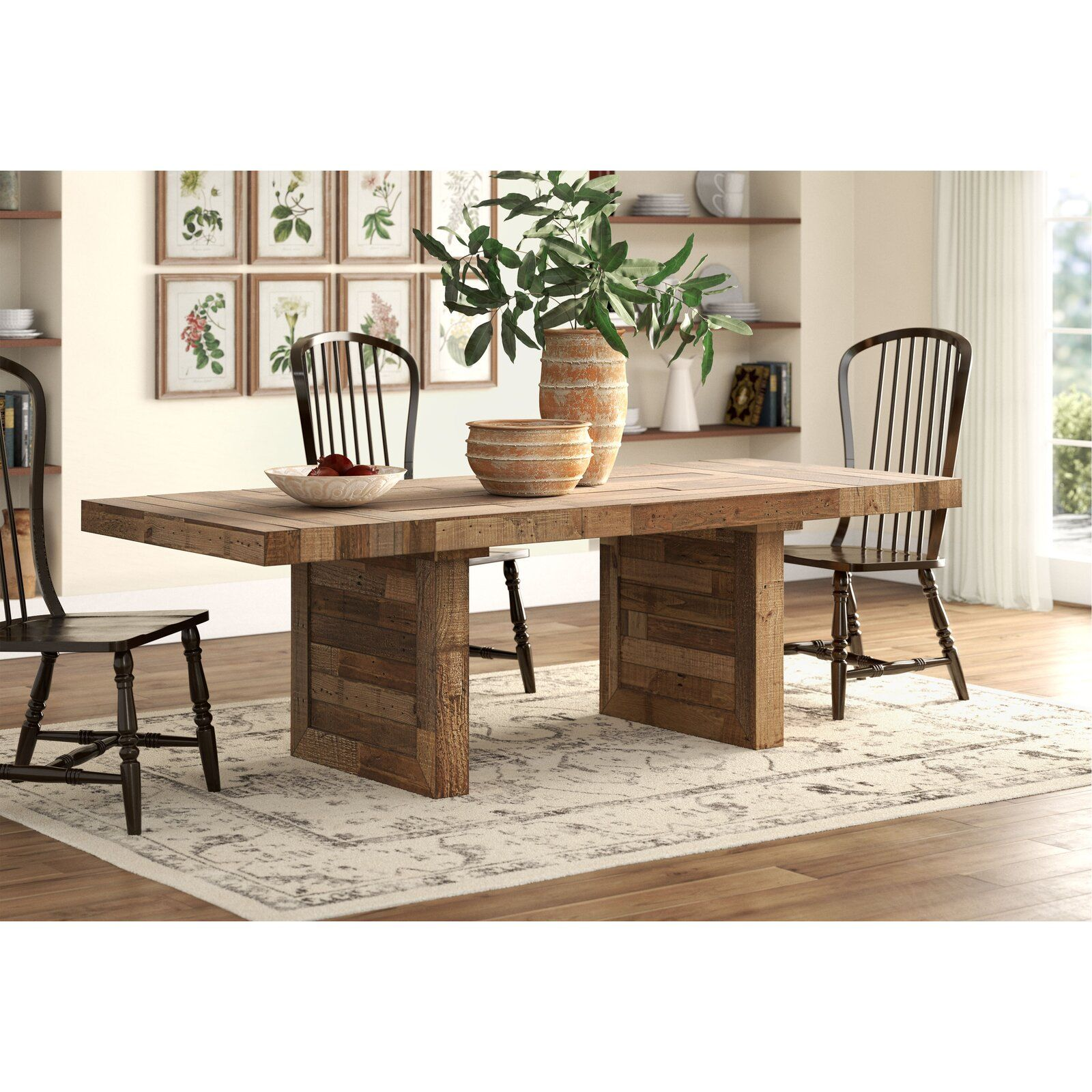 Pin By Courtney Miguel On Dining Room In 2021 Solid Wood Dining Table Wood Dining Table Dining Table