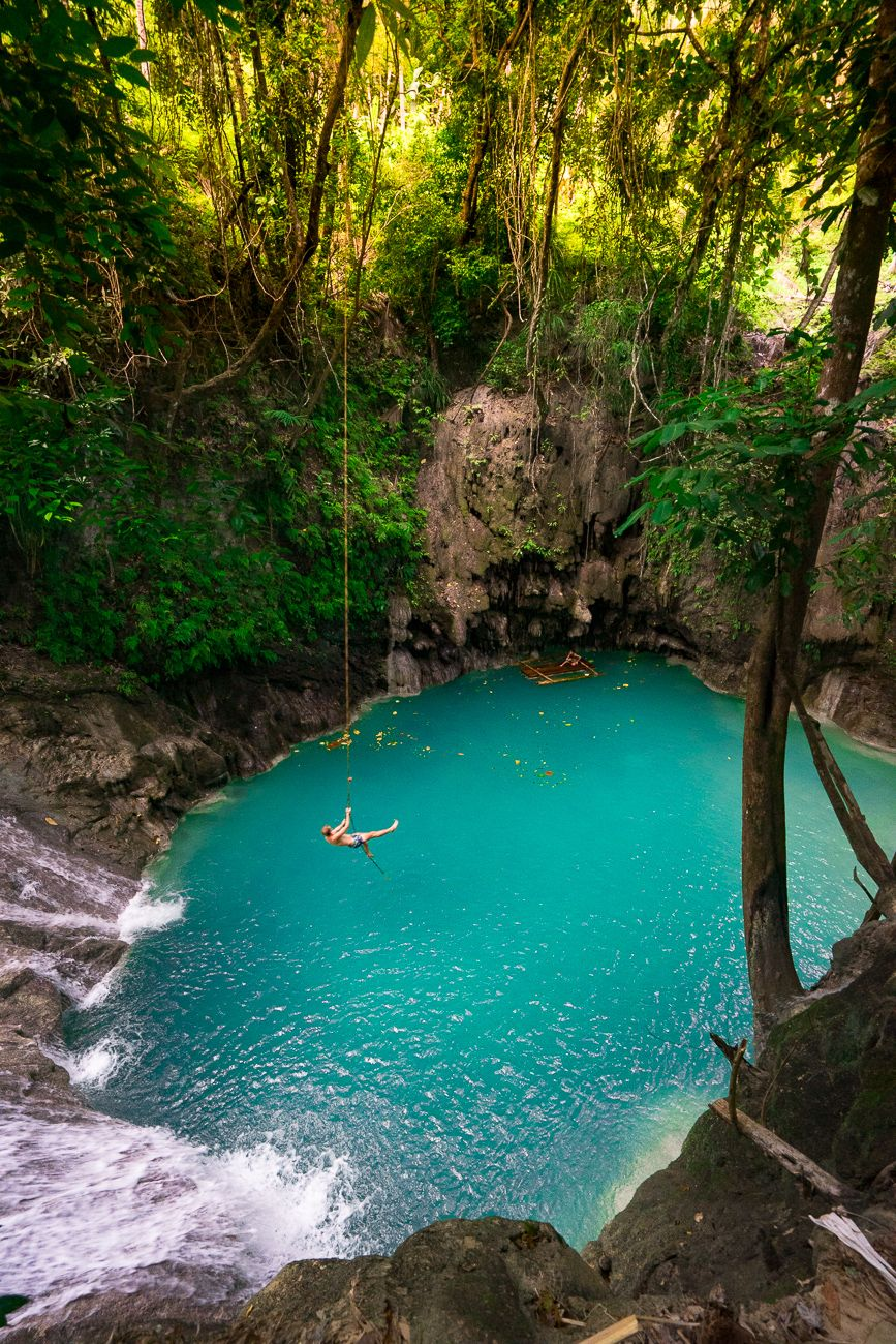 BEST WATERFALLS & CAVE POOLS IN BOHOL, PHILIPPINES