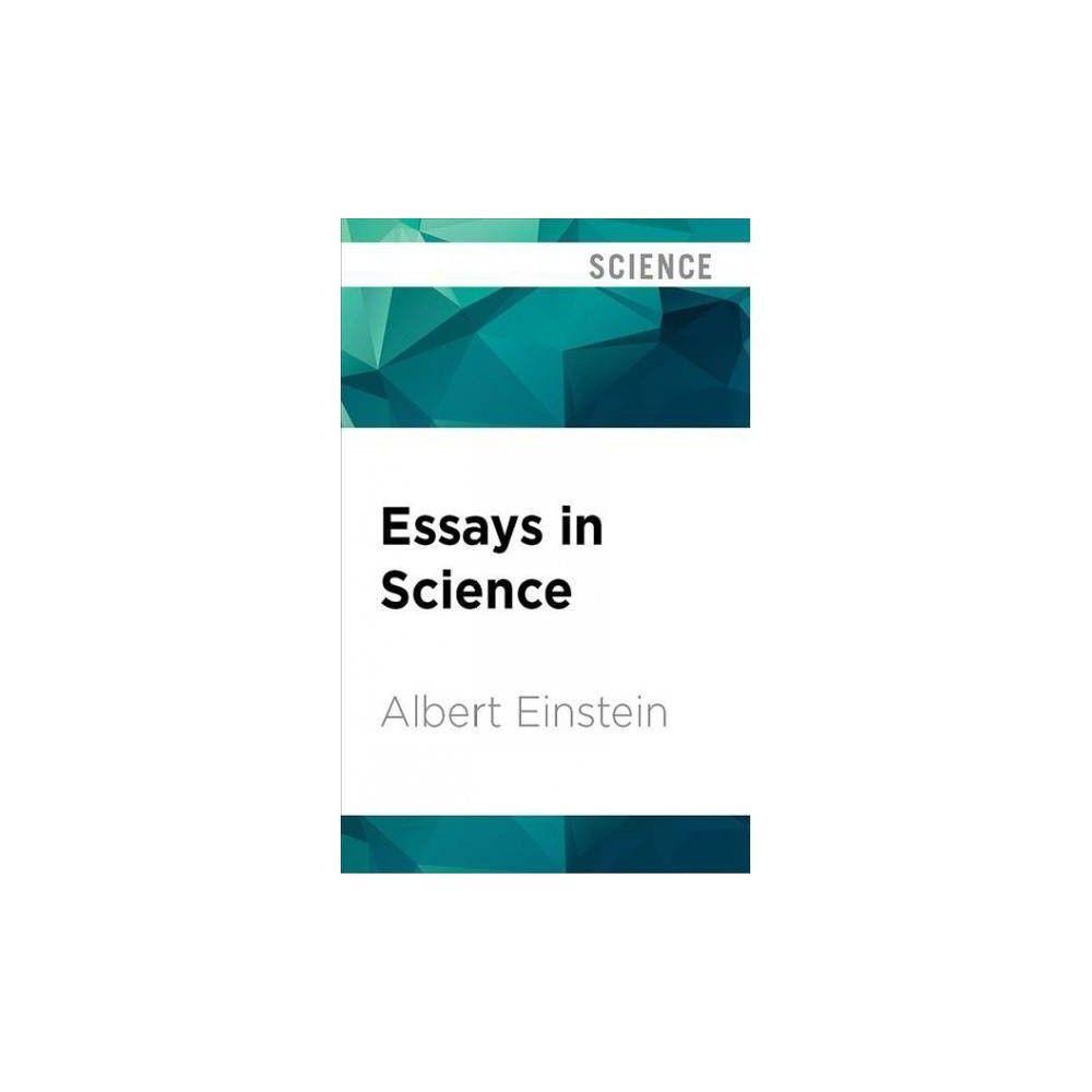 essays in science   unabridged by albert einstein cdspoken