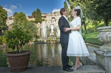 Special Wedding Package With Civil Ceremony In Tivoli Near Rome
