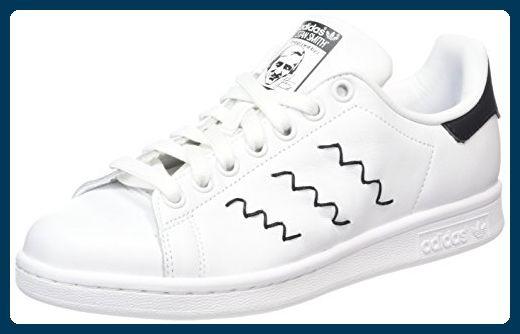 adidas Damenschuhe Originals Stan Smith weiß, 42: