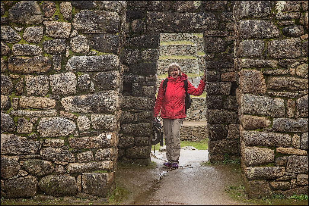 At Machu Picchu, Peru!