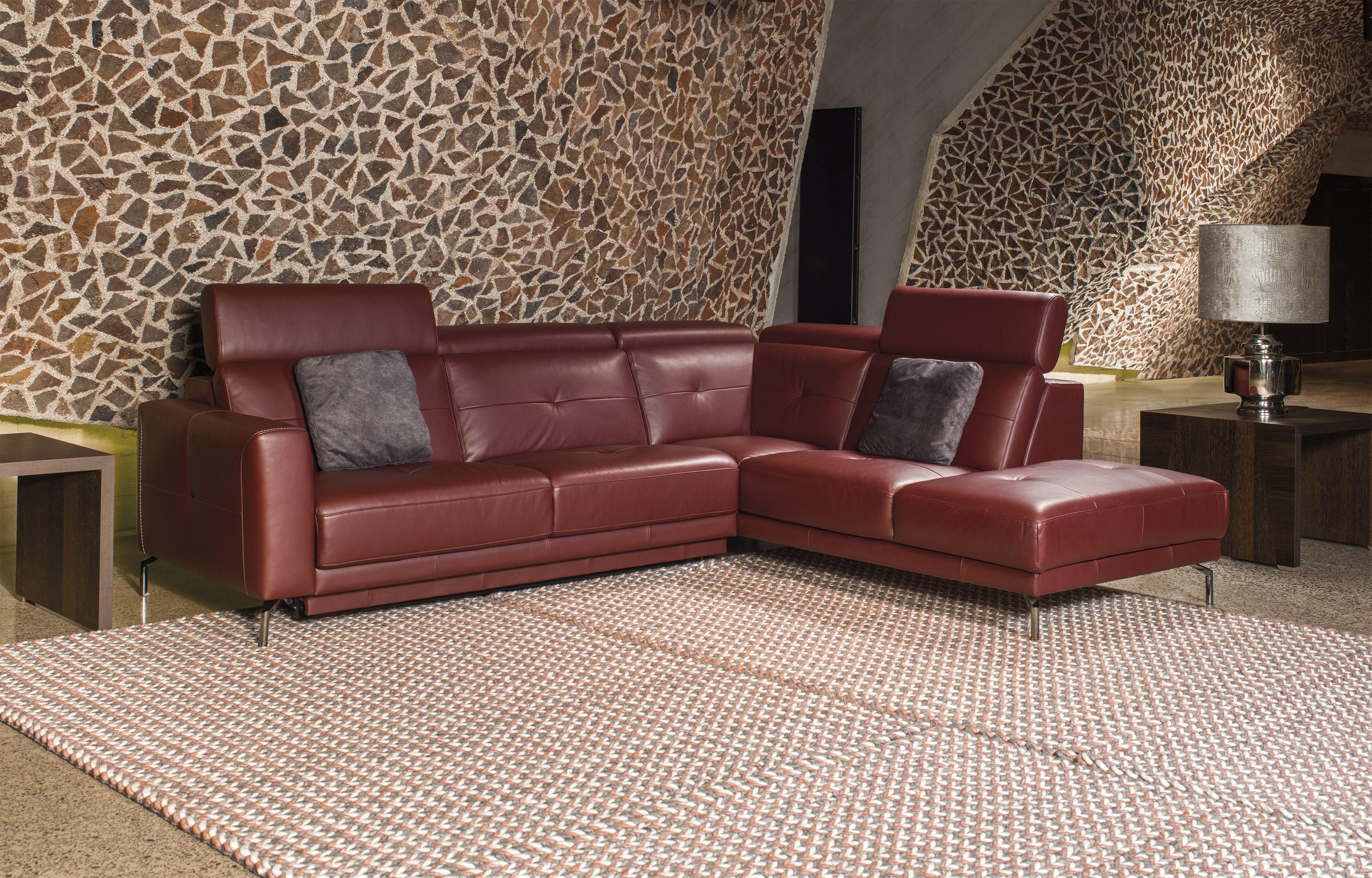 sofa Riposta #kler #sofa #skóra #salon #design #wypoczynek #relaks ...