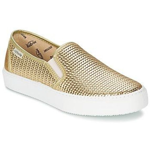Instappers SLIP ON TRENZA METALIZAD van Victoria