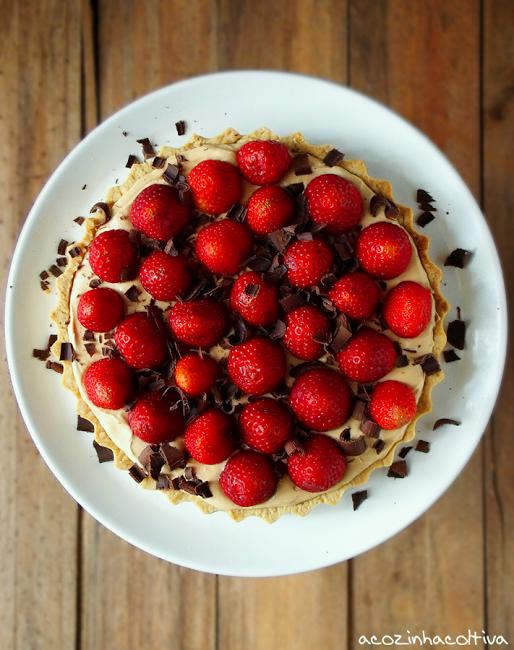 A Cozinha Coletiva: Torta de Caramelo e Morangos