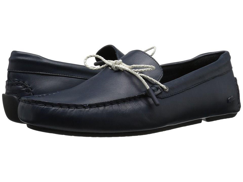 5966f5eaf87 LACOSTE LACOSTE - PILOTER CORDE 117 1 CAM (NAVY) MEN S SHOES.  lacoste   shoes