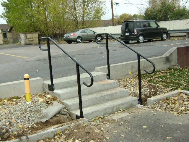 handrails for outside steps | Posted by Tom Gabriel | home ...