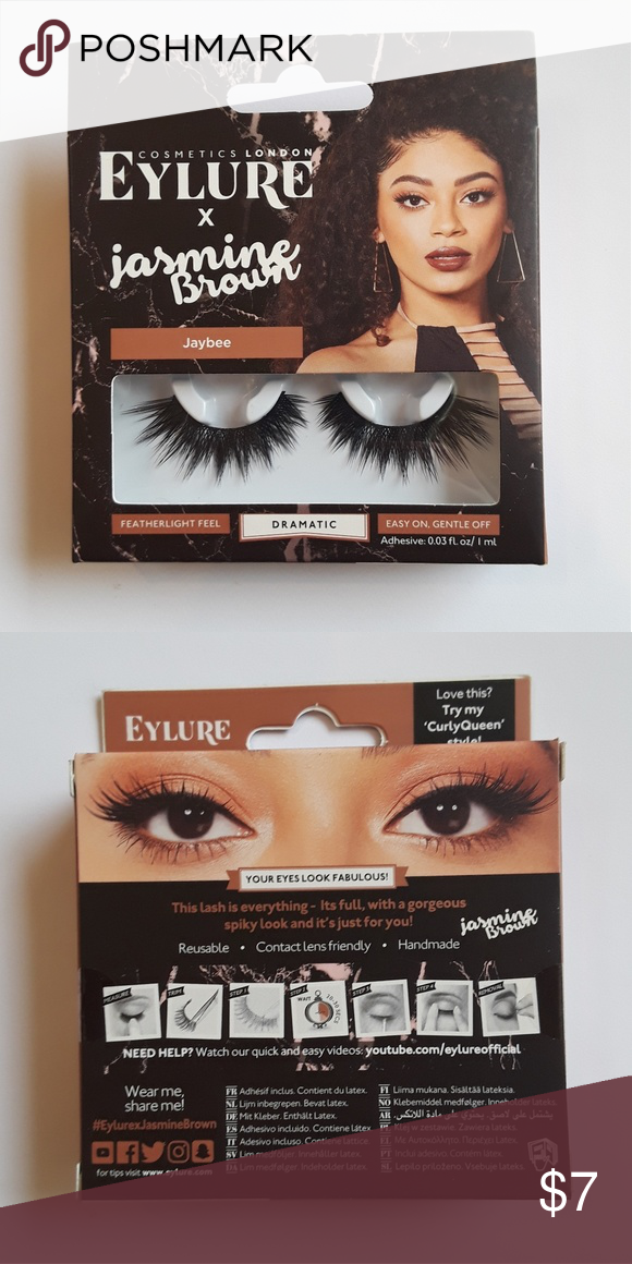 c24c01fbd76 Eylure X Jasmine brown Jaybee Lashes Jaybee is a gorgeously full dramatic  lash that fans out at the outer eye to create the most daring, for a  fearless lash ...