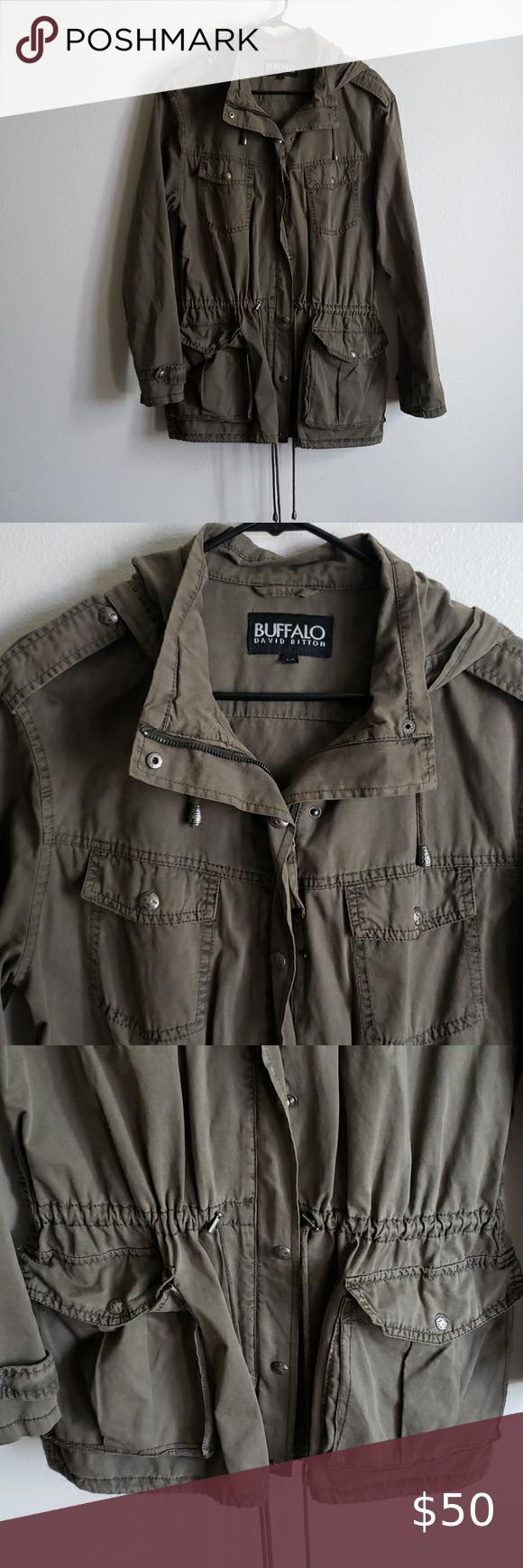 Buffalo David Bitton Utility Jacket Utility Jacket Jackets Clothes Design [ 1740 x 580 Pixel ]