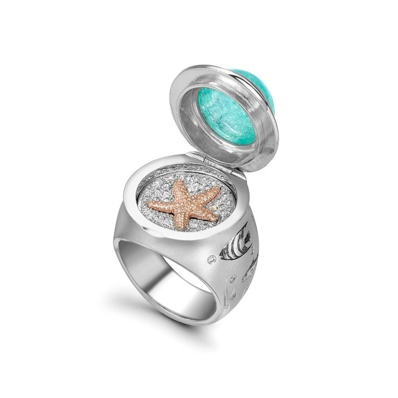 Theo Fennell, The Underwater Ring. Price on request. Courtesy Theo Fennell Ltd.