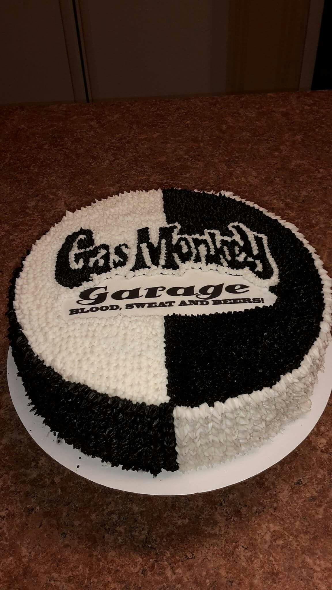"""Gas Monkey cake """"Cake Therapy"""" by Karen & Kristin"""