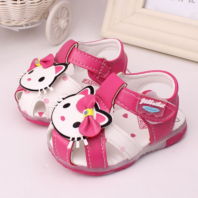 12789e659e1 ... 0 2 years old baby girl sandals lovely cartoon children shoes soft  bottom kids shoes good quality box packaging-in Sandals   Clogs from Mother    Kids on ...