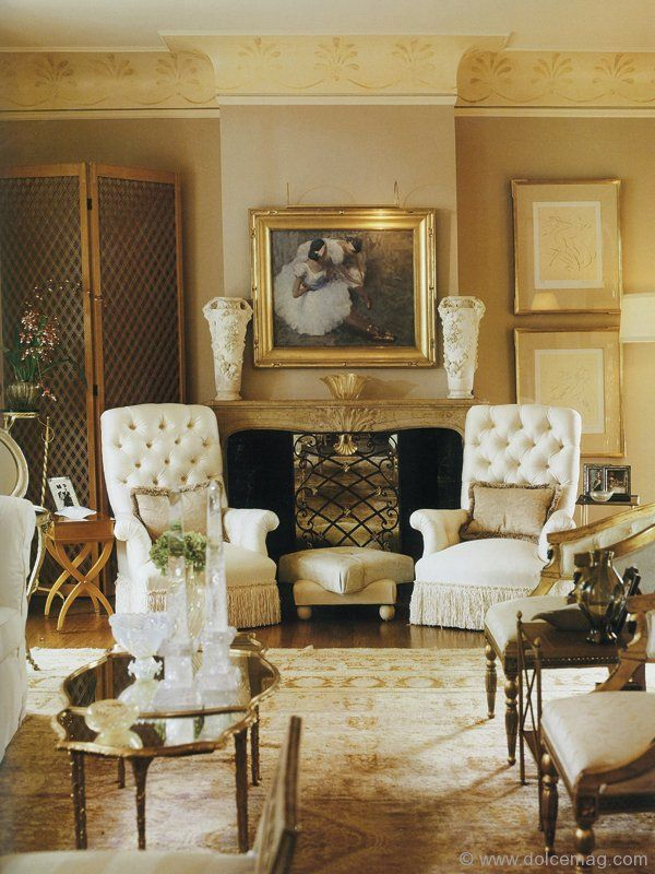 jan showers' glamorous designs carry the elegance and