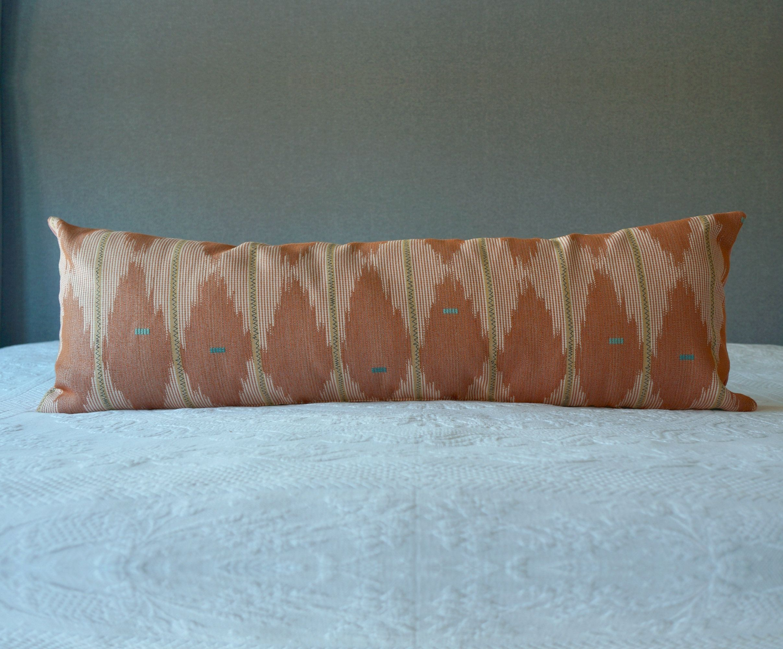 Salmon Pink Southwest Long Lumbar Throw Pillow Etsy Lumbar Throw Pillow Throw Pillows Throw Pillow Etsy