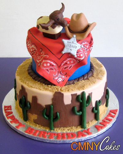 Enjoyable Cowboy Cakes Cowboy Themed Birthday Cake Cmny Cakes With Funny Birthday Cards Online Aboleapandamsfinfo