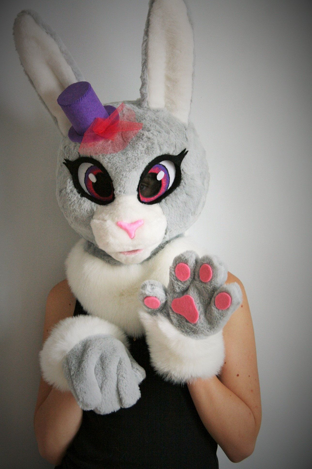 8951a7155 Excited to share the latest addition to my #etsy shop: Rabbit fursuit  partial,