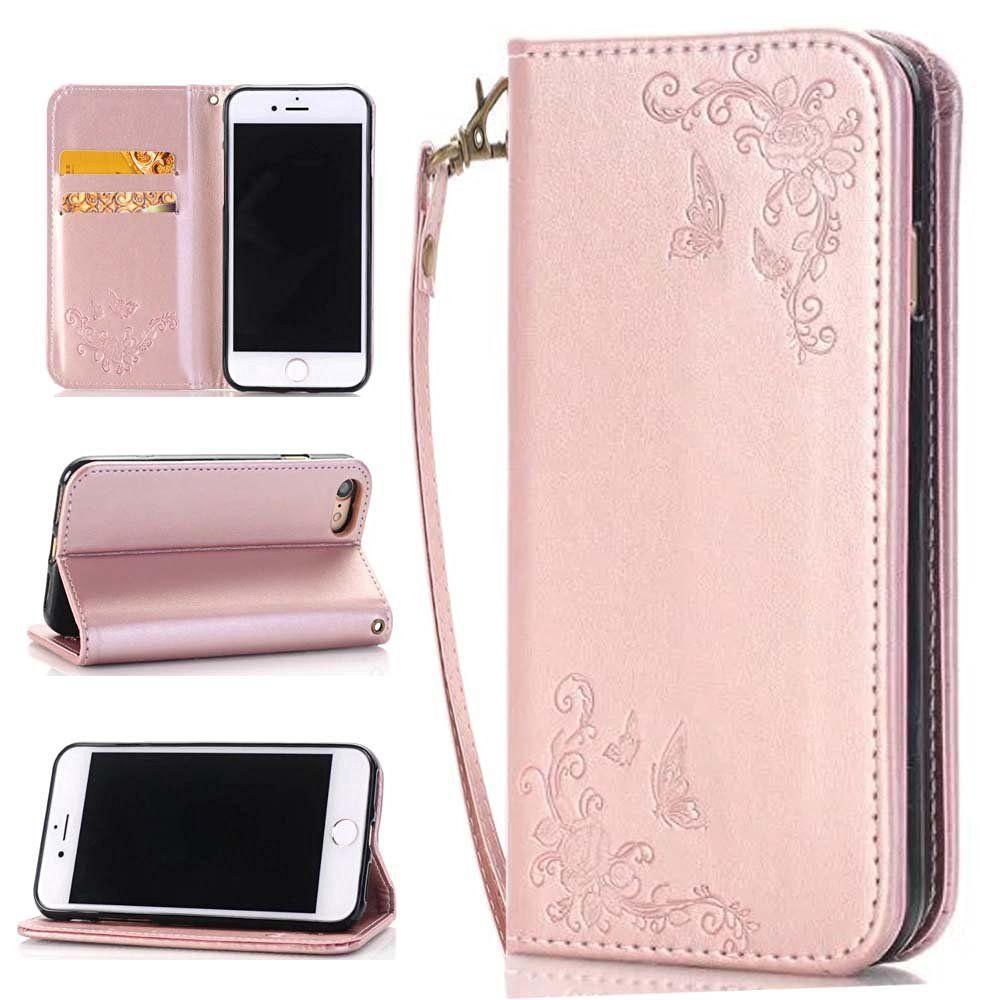 more photos e37ff b227c Amazon.com: iPhone 7 Plus Case,iPhone 7 Plus Wallet Case ...