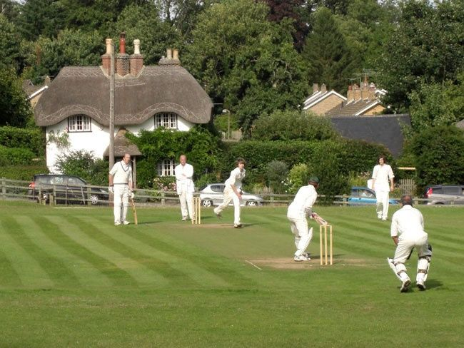 Swan Green Cricket Club Is A Ground So Pretty That It Has Featured On Chocolate Boxes English Village Lyndhurst English Countryside