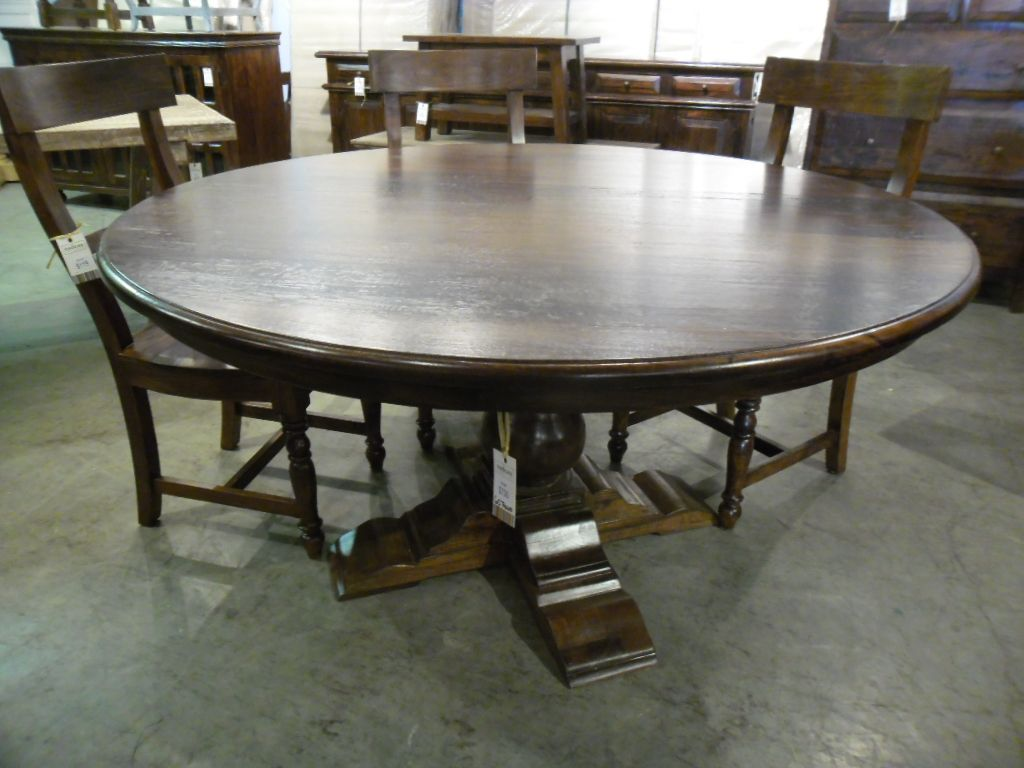 "Dining Room Furniture Dallas 60"" Round Dining Table Pc105  $730 Table Only  Shannondallas"