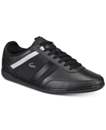 71f57a855 Lacoste Men s Giron Leather Low-Profile 118 1 Sneakers - Black 13
