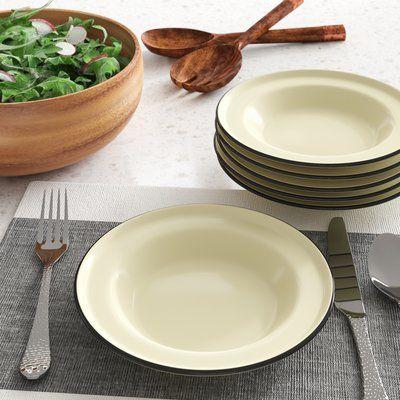 Mint Pantry Cappiello Enamelware 8 Salad Plate Color Cobalt Blue Melamine Dinner Plates Pink Dinner Plates