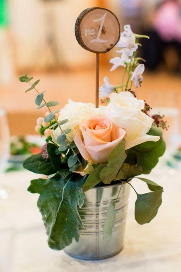 27 centros de mesa para bodas, consigue una boda de cuento Bodas