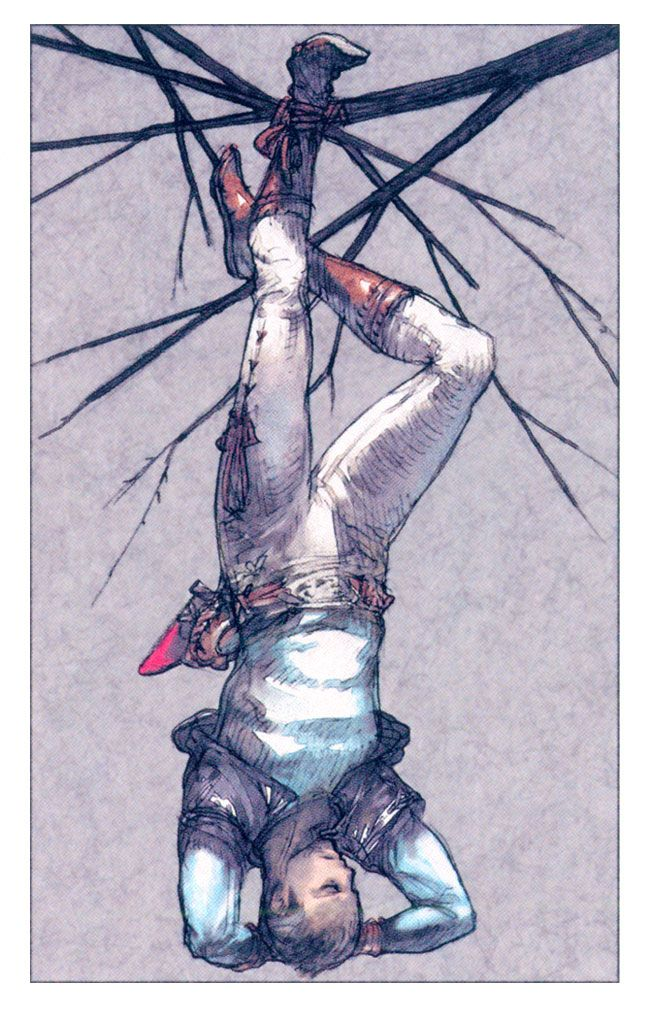 The Hanged Man By Akihiko Yoshida This Picturemakes Me Laugh