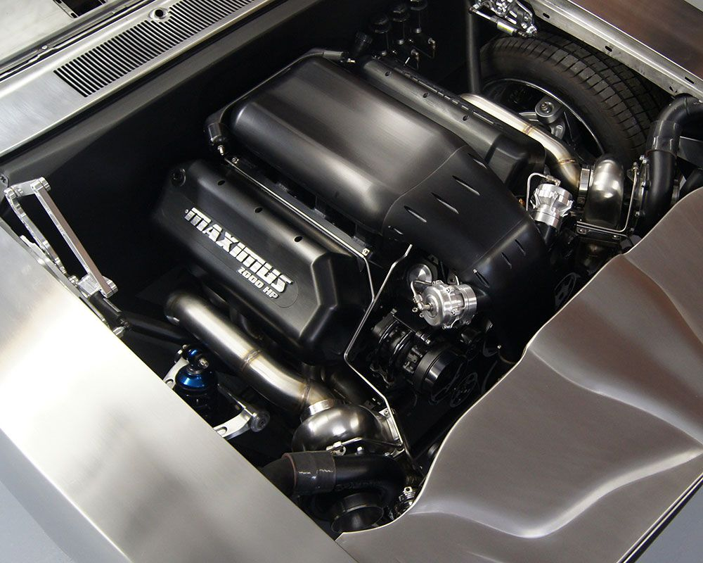 The NRE Maximus is powered by a 2,000 horsepower, 9.4