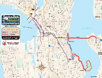 The Seattle Rock n Roll Marathon looks like it has a fun route this ...