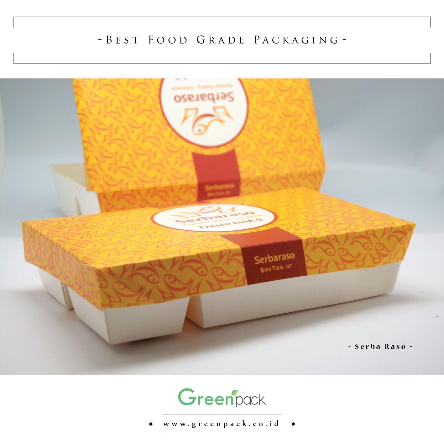 Packaging Makanan: Dus Makanan Serba Raso Ini Merupakan #Greenpack Tipe 5C