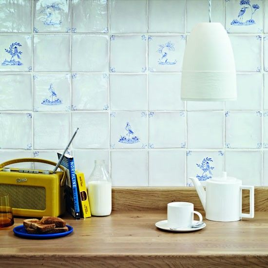 Hand Painted Wall Tiles Simple Ways To Decorate Old: Kitchen Tile Decals - Our Pick Of The Best