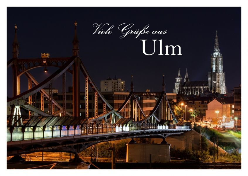 Grüße aus Ulm Tagesausflug, Ulm und Urlaub grüße