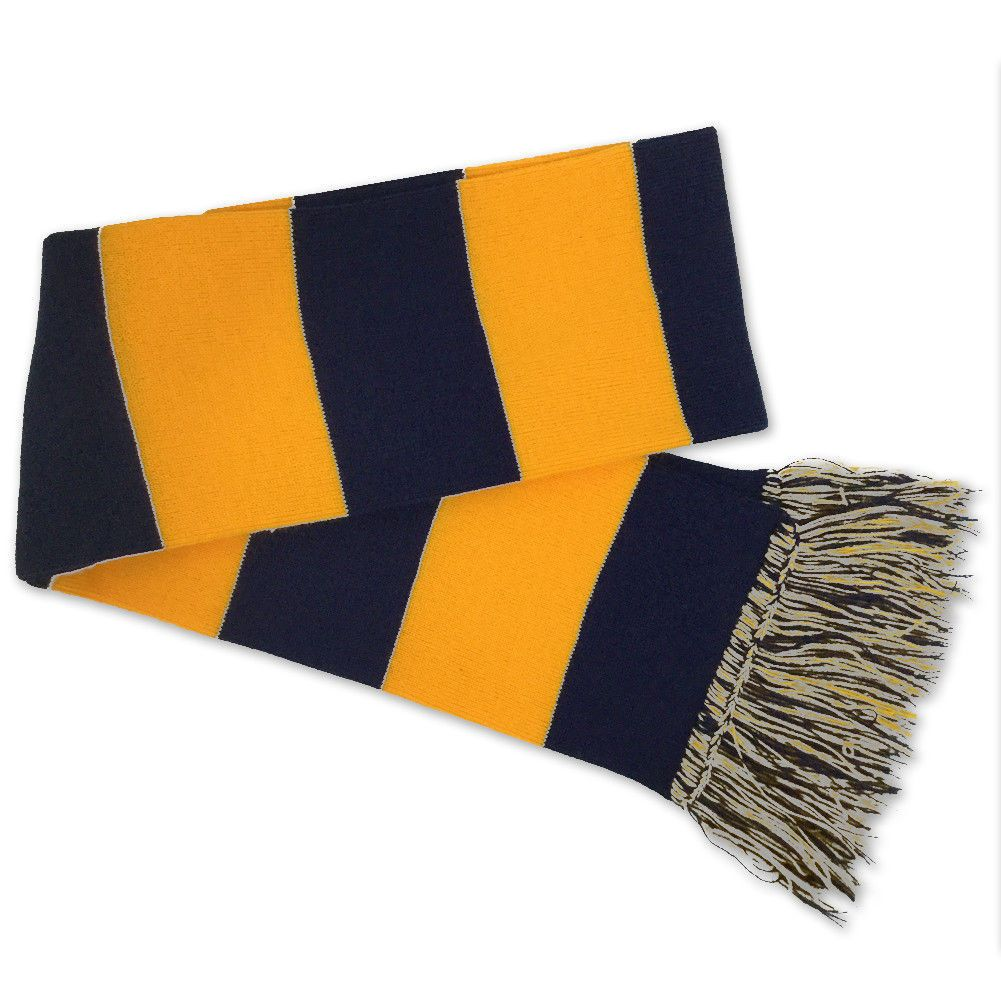 Navy stripe scarf navygold navy stripes striped