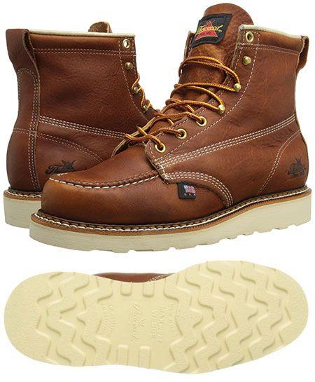 72afa1575ed3 Thorogood American Heritage Moc Toe Boot - Made in USA