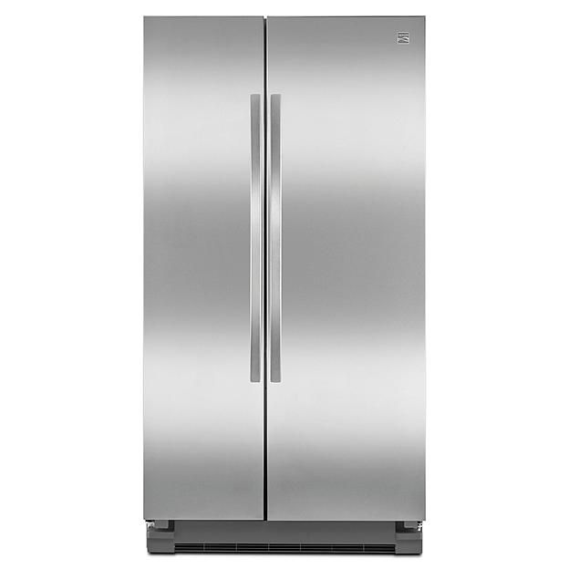 Kenmore 25 2 Cu Ft Side By Side Refrigerator Stainless Steel