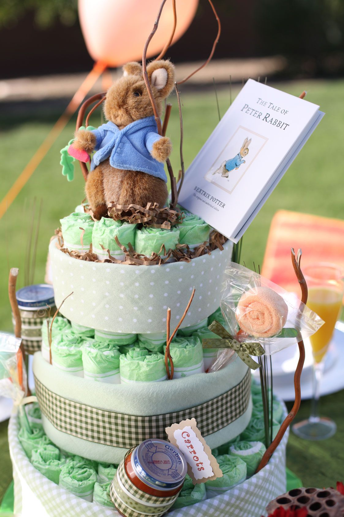 Creative Unisex Baby Shower Themes Peter Rabbit Inspiration Baby