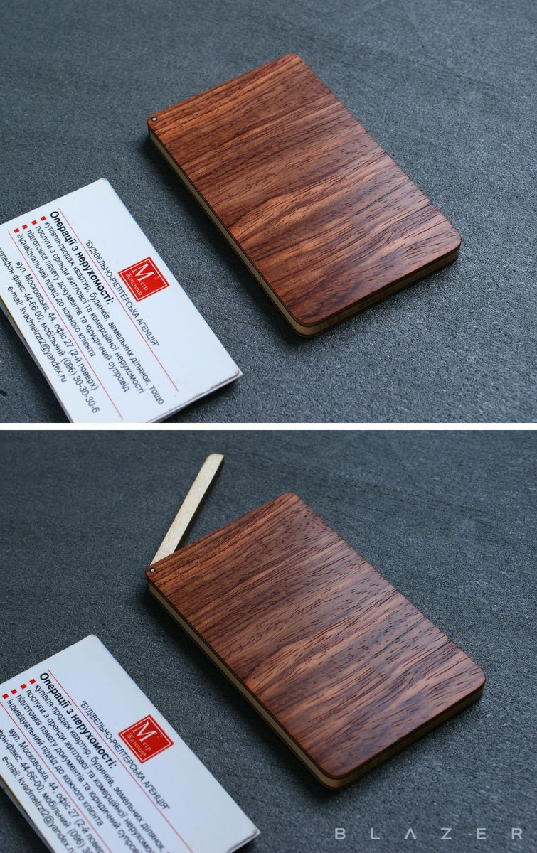 Blazer luxury wood business card case for 15 20 business cards blazer luxury wood business card case for 15 20 business cards leather business card holder wooden cardholder credit card case for woman wood wallet reheart Image collections