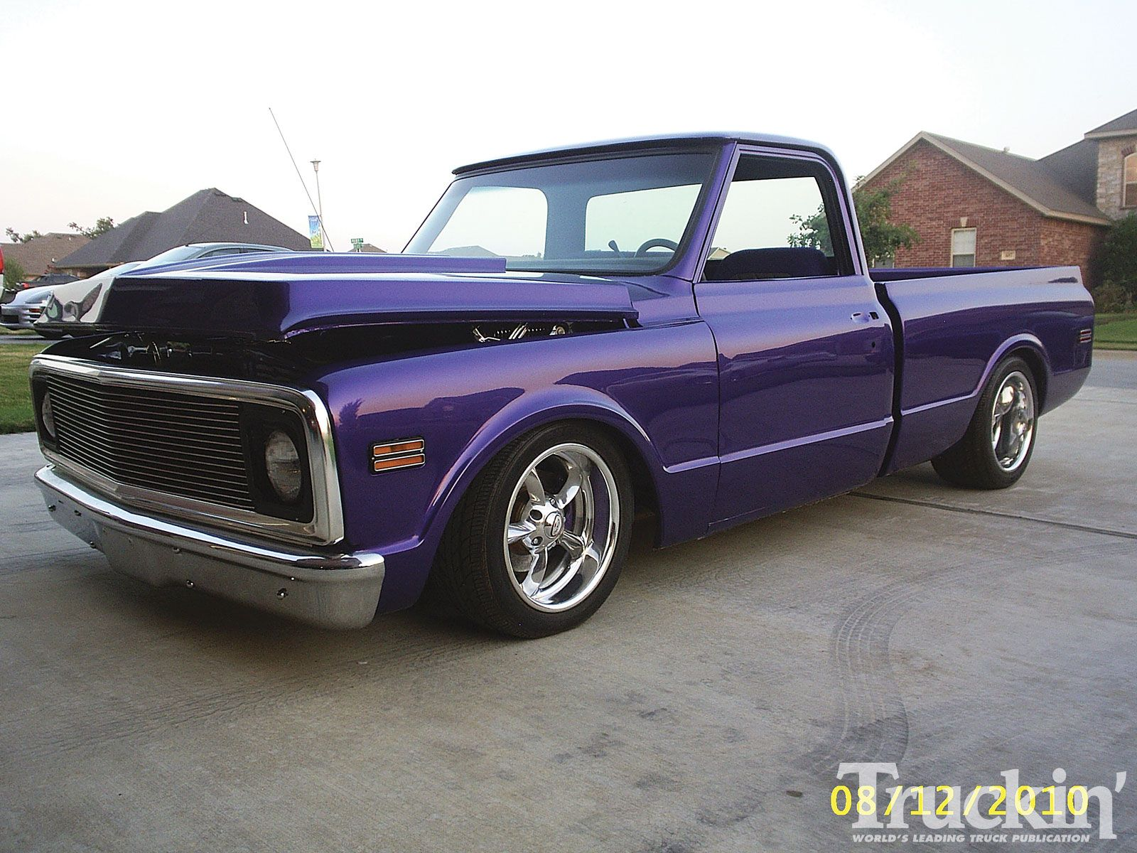 Pin 1972 Chevy C10 Shortbed Stepside Pickup On Pinterest Vintage Chevy Trucks Chevy C10 Chevy Trucks